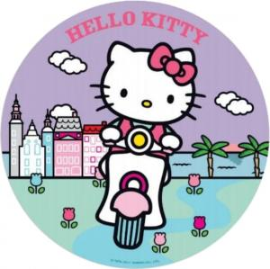 Opłatek na tort  Hello Kitty wz1 / 20 cm