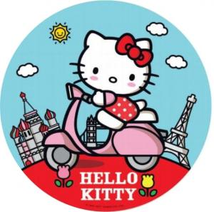 Opłatek na tort  Hello Kitty wz2 / 20 cm