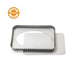 Forma metalowa do tarty 32x22x3,5 cm NON STICK