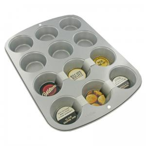 Forma do Muffin Metalowa WILTON 12 gniazd